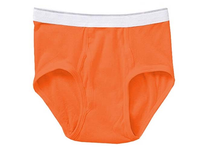Men's Orange Briefs