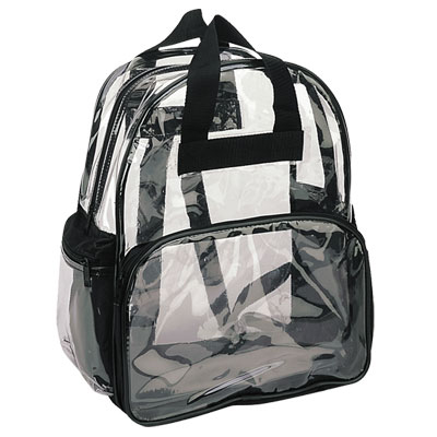 BASIC CLEAR BACKPACK