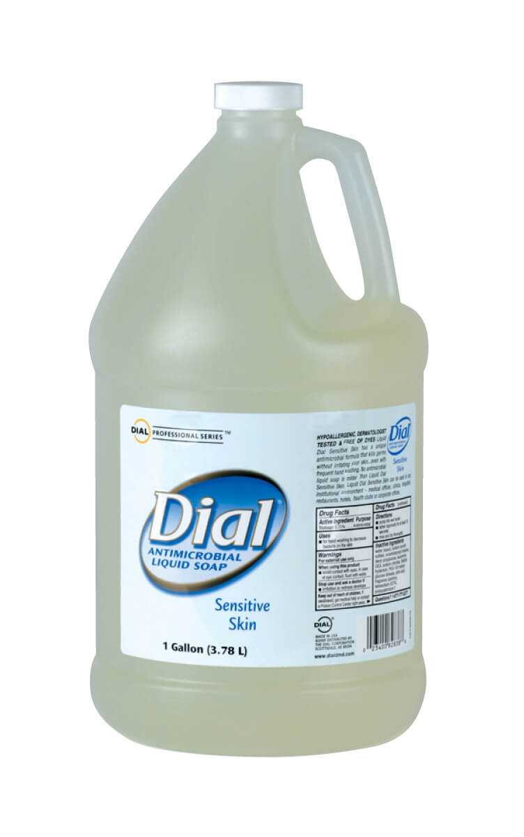 LIQUID DIAL ANTIBACTERIAL SOAP FOR SENSITIVE SKIN
