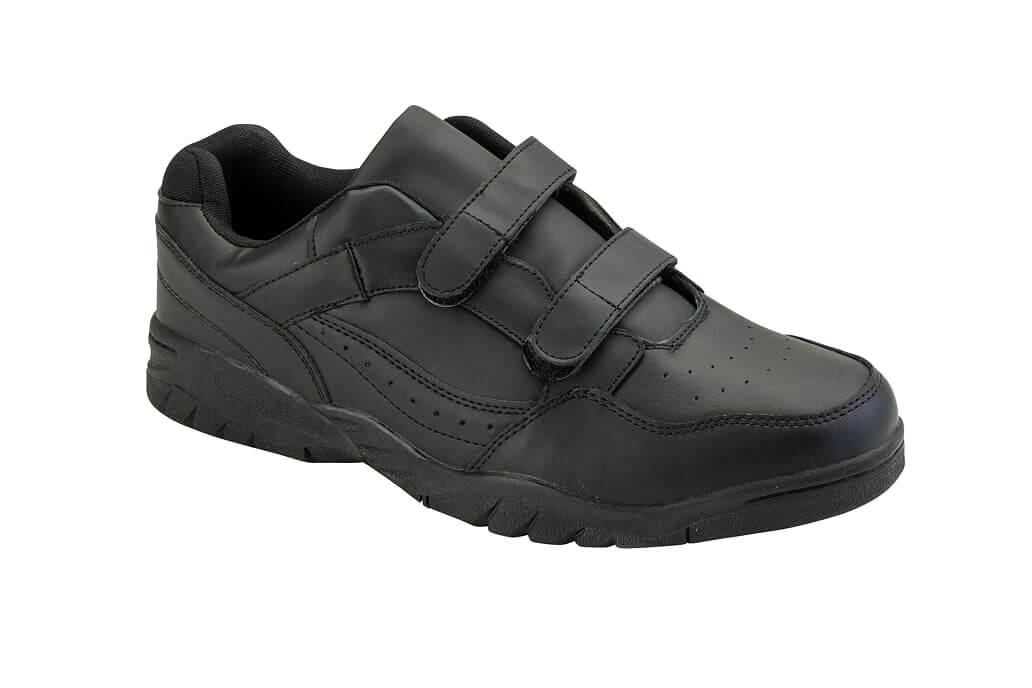 Leather Velcro Top Sneakers