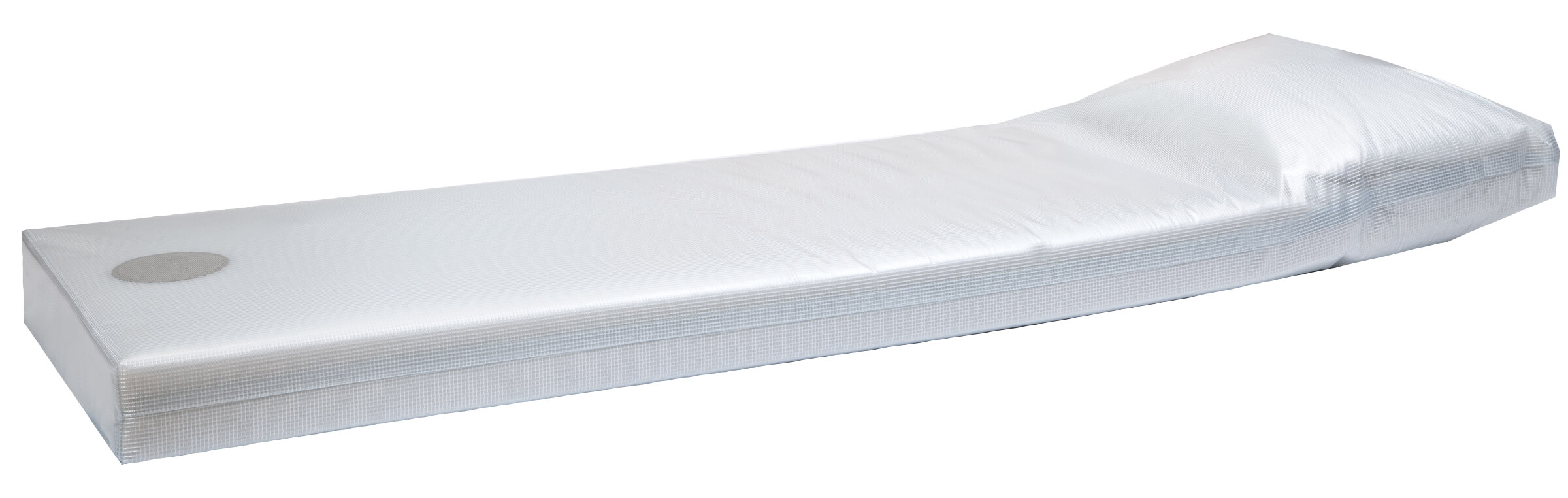 Clear Poly Core Sealed Mattress With Scrim