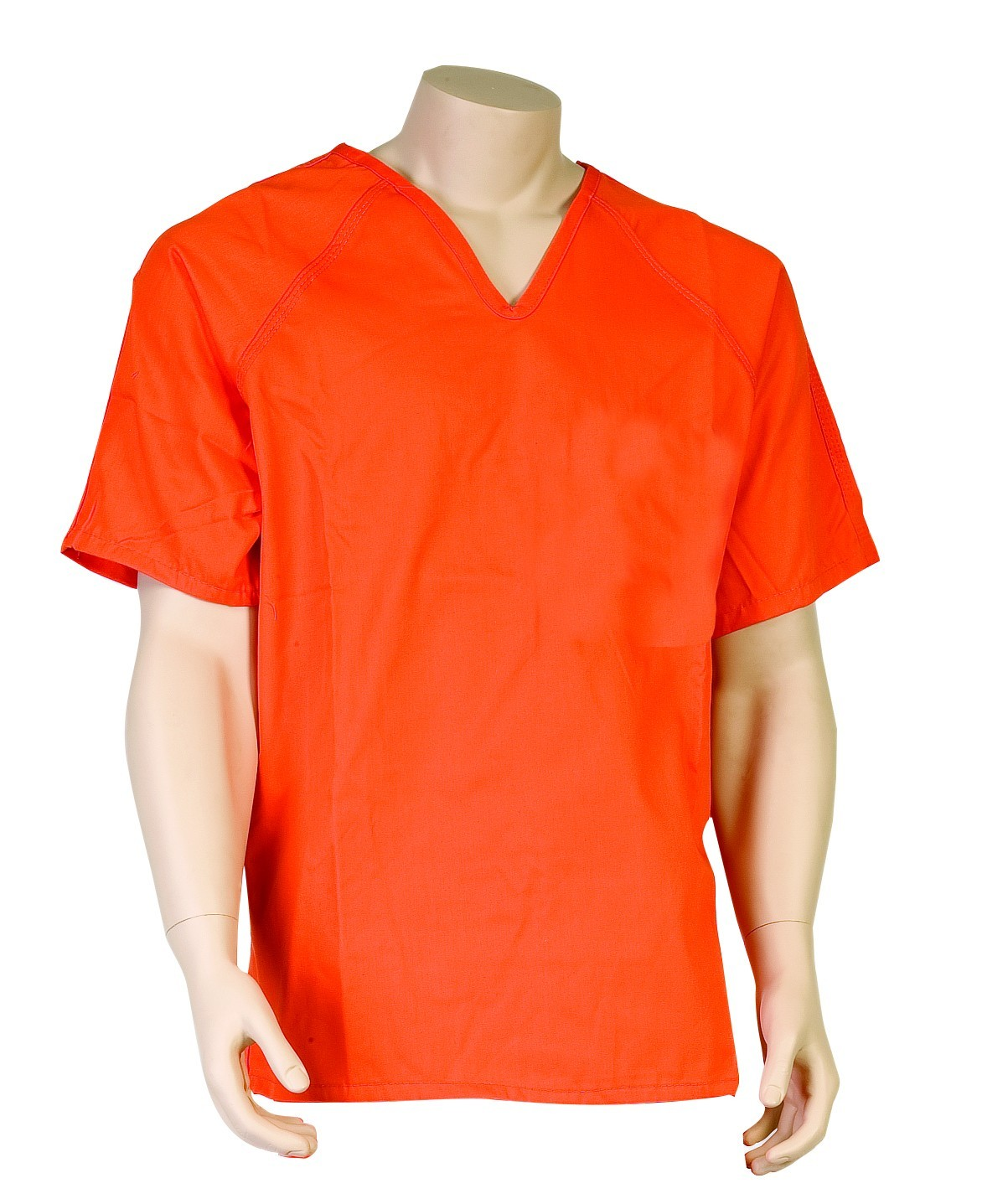 Solid Color Inmate Shirts Without Pockets