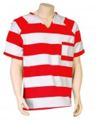 Striped Color Inmate Shirts