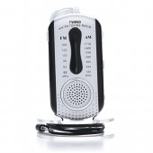 AM/FM Mini Pocket Radio With Speaker