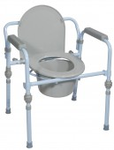Steel Commode