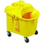 Metal Free Mop Bucket With Funnel Wringer