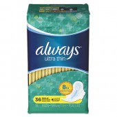 Always Ultra Thin Pads with Wings, Regular