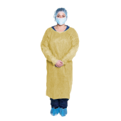 Disposable Isolation Gown-yellow