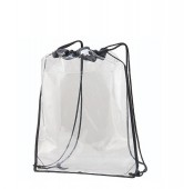 CLEAR CINCH BAG