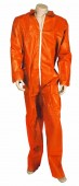 Orange Disposable Coverall