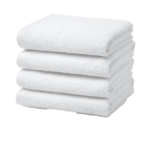Economy Grade White Towels & Washcloths