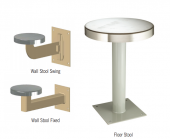 Floor & Wall Mounted Stool