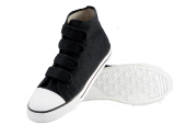 High Top Velcro Canvas Sneakers