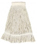 Blended White Looped End Mop Heads