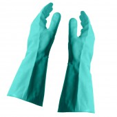 Flock Lined Nitrile Gloves