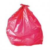 Low Density Trash Can Liners Red