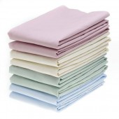 DOMESTIC COLORED T180 PERCALE FLAT SHEETS