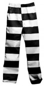 Striped Color Inmate Pants