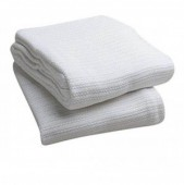 Premium White Thermal Blankets