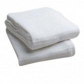 Econo White Thermal Blankets