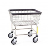 Wire Laundry Cart
