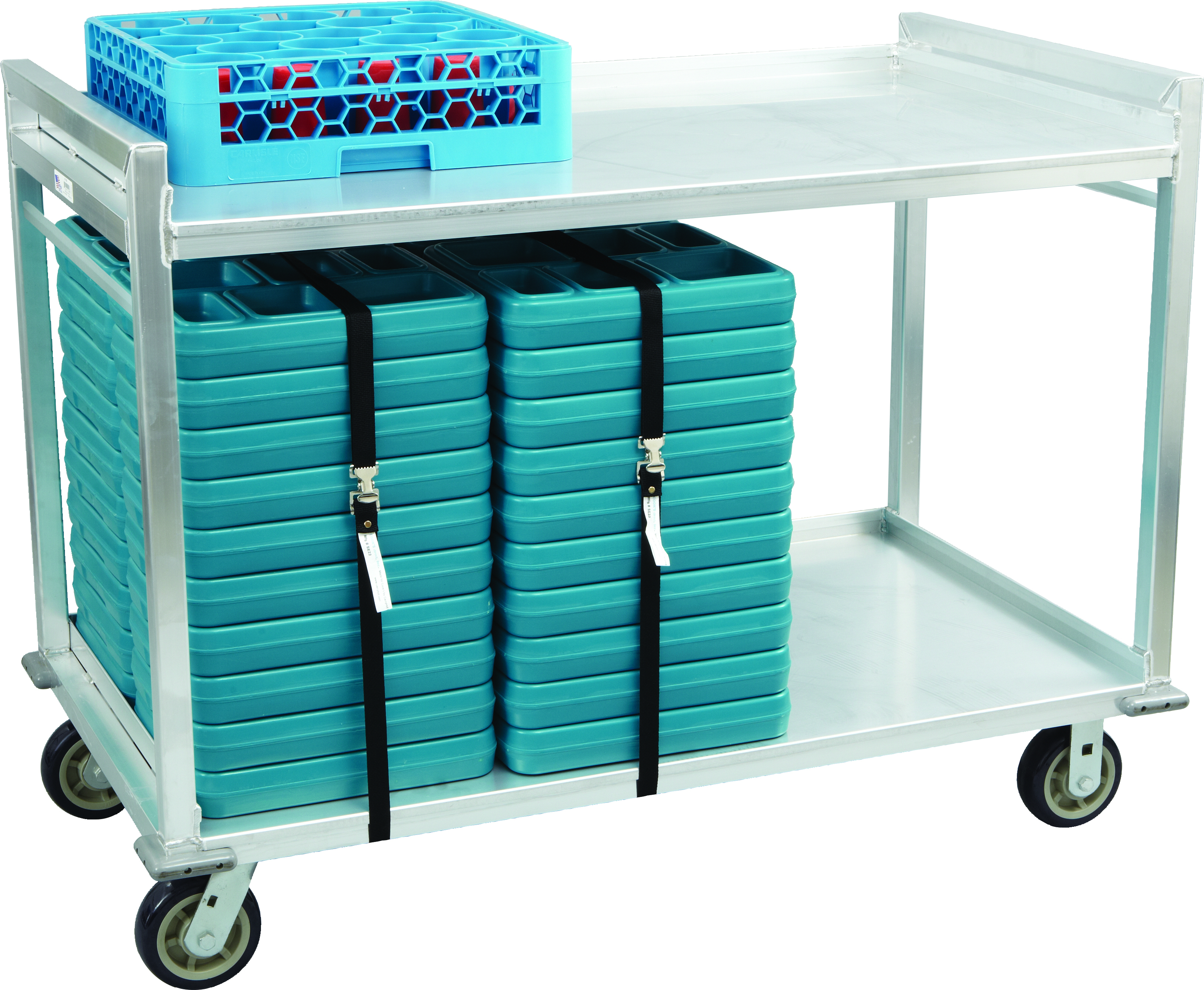 Aluminum Tray Delivery Cart